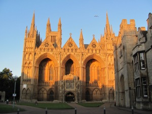 Peterborough Cathedral from the Green